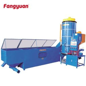 Fangyuan economic type eps continuous polystyrene foam beads foaming machine