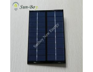 9V 300mA Epoxy Solar Panel with Wire & Connector