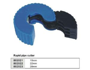 Rapid pipe cutter