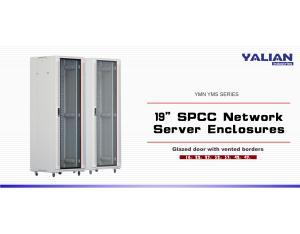 32U tempered glazed door network cabinets  600x600  Data center racks
