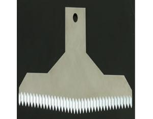 V-Tooth Serrated Straight Blades