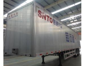 Aluminium Alloy dry van semi trailers