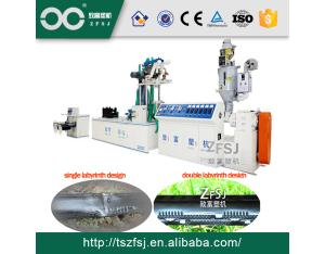 Single Blade Labyrinth Type Drip Irrigation Tape Making Machine