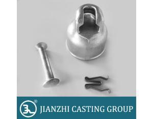 Ball and socket type metallic porcelain insulator cap fittings