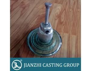 High voltage Disc / Suspension type Toughened Glass Insulator cap fitting