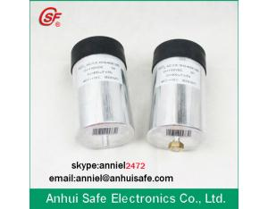 cylinder capacitor dc link capacitor 400uf 440VAC for wind power solar power industrial frequency