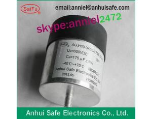 cylinder capacitor dc link capacitor 1200uf 1100VDC for wind power solar power industrial frequency
