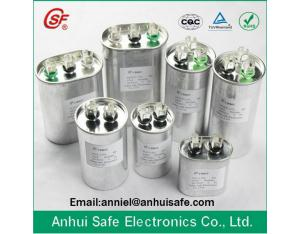 RoHS compliant CBB65 capacitor 35uf 450v anti-explosion protected fan air conditioner capacitor