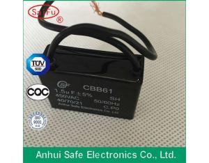 Metalized Polypropylene Film CBB61 Capacitor 450VAC