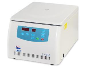 L-450 Benchtop Medical Lab Centrifuge Laboratory Centrifuge Brushless Motor LED Display 4500rpm CE 2