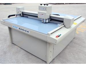 Upper leather sample maker cutting machine
