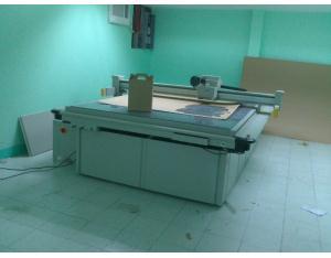 Cardboard carton box sample maker cutting machine