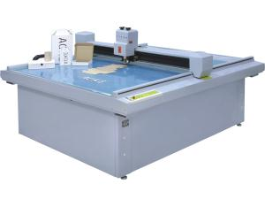 Coroplast box pattern cutter plotter cutting machine