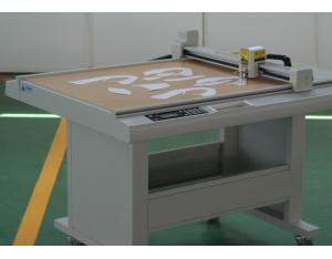 Coated paper carton box sample maker cutting machine