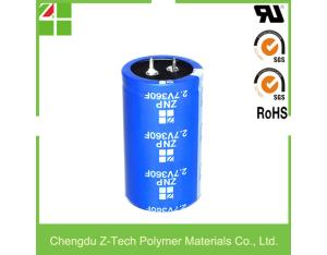 2.7V 360F super capacitor electrochemical supercapacitors