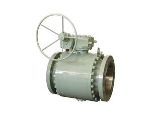 Trunnion Mounted Full Bore Three Pieces Ball Valve