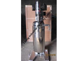 Tubular Centrifuge for Liquid Liquid Solid Separation