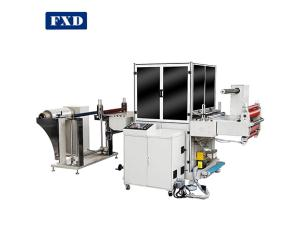 Large size label sticker die cutting machine