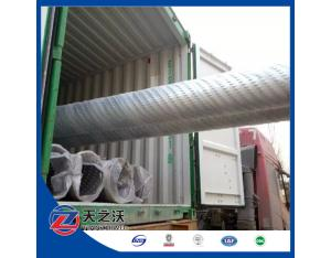 bridge slotted wall screen pipe stainless steel