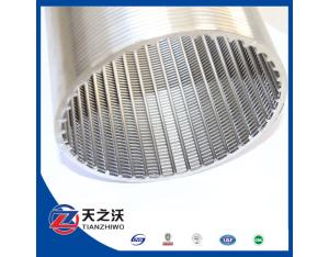 stainless steel Johnson wedge wire water well screen filter