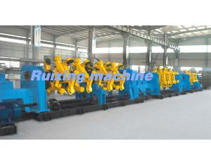 400 fork strander for stranding Cu, Al wires and ACSR, armoring and Cu screening the cable