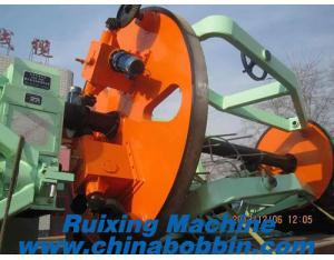 Cabling machine for laying up the mineral-use cables, control cables, telephone cables