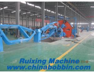 1+3/ 1+6 Cabling machine for cabling the control cables and mining cables
