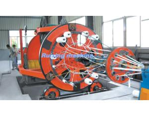 1+1+3 Cabling machine for laying up the mineral-use cables, control cables, telephone cables