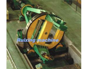 Drum twister laying-up machine for steel-armoring or Cu-screening the cables