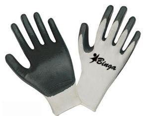 Nitrile Coated 13G Nylon Shell Safety Glove