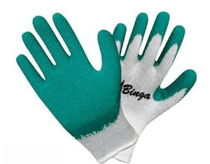 Latex Coated 7G/10G T/C Shell Safety Coated
