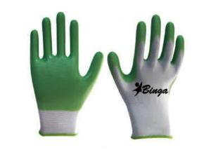 PVC Coated 10G/13G Polyester Shell Safety Glove