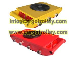 GST roller skids with durable quality strong capacity