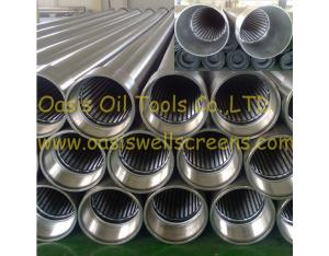 Well Drilling Wedge Wire Screens