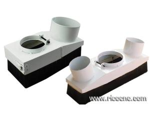 DIY CNC Dust Shoes Cover Dust Boots Dust Brush Dust Skirt Dust Shroud for Router Table Dust Collect