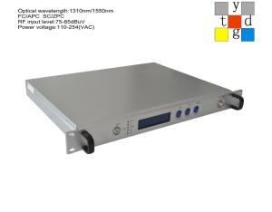 1310nm CATV Optical transmitter/1550nm FTTH CATV Direct Modulation Optical Transmitter