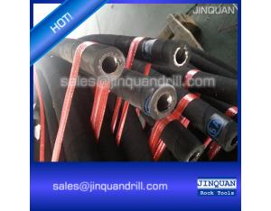 Very Good Quality Steel Wire Spiralled Flexible Rubber Hose