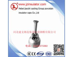 ball&socket metallic fittings for suspension disc insulator