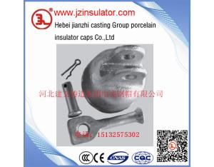 ANSI Clevis type 52-4 disc porcelain elelctric insulator cap