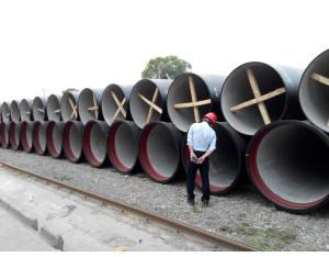 Ductile Iron Pipes for drinking water project