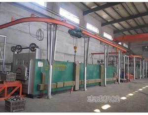 heat treatment furnace for grinding balls
