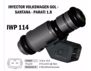 Inyector De Volkswagen Gol Golf Parati Santana Iwp 114