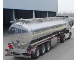 Hot Sale 45m3 Light- Duty Aluminium Alloy Tanker Semi-Trailer/Fuel Tank