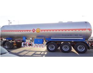 China Hot Sale 3 Axles LPG Transport Tanker Truck Semi Trailer/Gas Tank Trailer