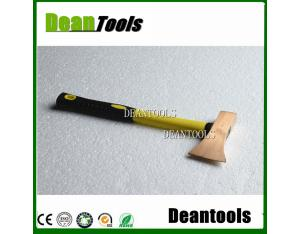 non sparking safety tools axe , safety handle wooden pick head
