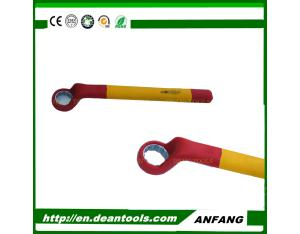 insulating single open box end wrench 8-30mm,1000v tools