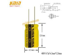 LED Lighting Capacitor Radial Aluminum Electrolytic Capacitor GP Series