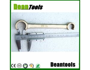 non sparking double c type wrench, aluminum bronze safety tools