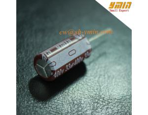 105°C 8000 Hours 33uF 440V Capacitor Radial Electrolytic Capacitor for LED Lighting Device