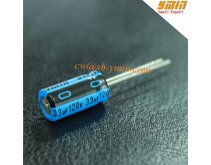 120V 33uF Capacitor Radial Lead Aluminium Electrolytic Capacitor for Electronic Ballast RoHS